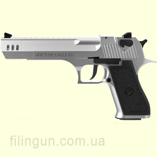 Пістолет стартовий Retay Eagle XU Chrome