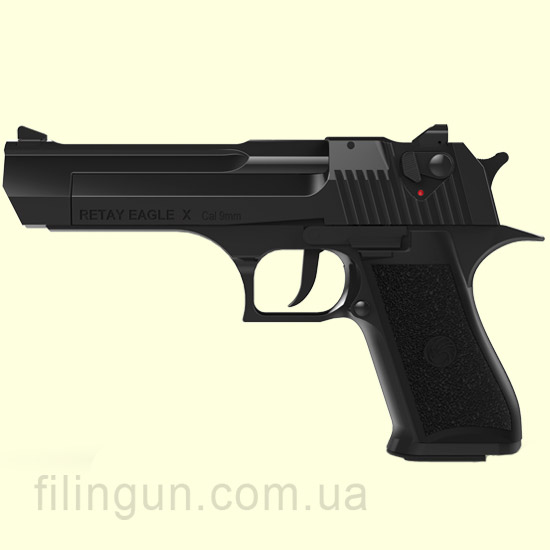 Пістолет стартовий Retay Eagle X Black