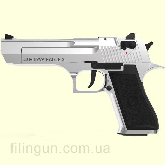 Пістолет стартовий Retay Eagle X Chrome