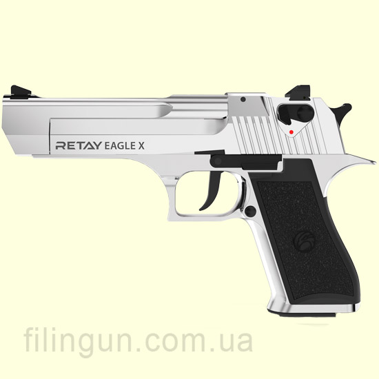 Пістолет стартовий Retay Eagle X Nickel
