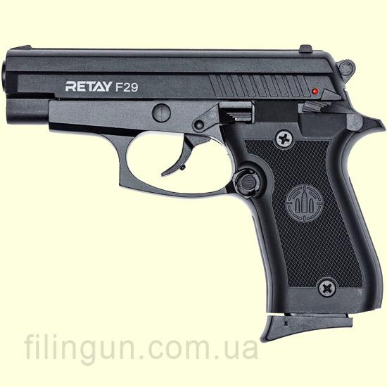 Пістолет стартовий Retay F29 Black
