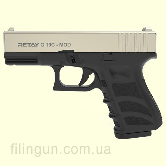 Пистолет стартовый Retay G 19C Satin