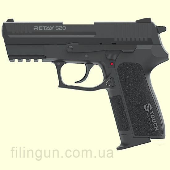 Пістолет стартовий Retay S20 Black - фото