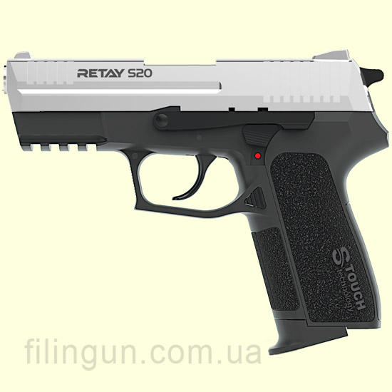 Пистолет стартовый Retay S20 Chrome