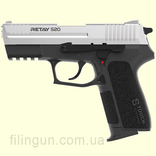 Пістолет стартовий Retay S20 Nickel