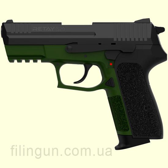 Пістолет стартовий Retay S20 Olive