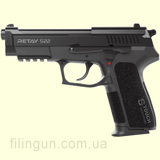 Пістолет стартовий Retay S22 Black