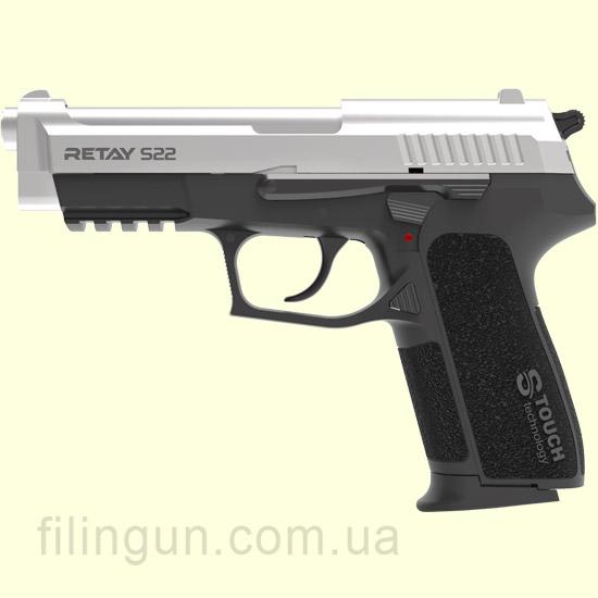 Пистолет стартовый Retay S22 Chrome - фото