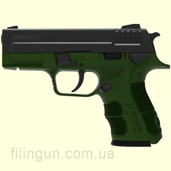 Пистолет стартовый Retay X1 Olive
