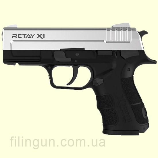 Пістолет стартовий Retay X1 Chrome