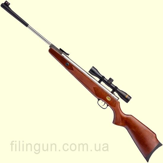 Гвинтівка пневматична Beeman Silver Kodiak X2 Gas Ram (приціл 4x32)
