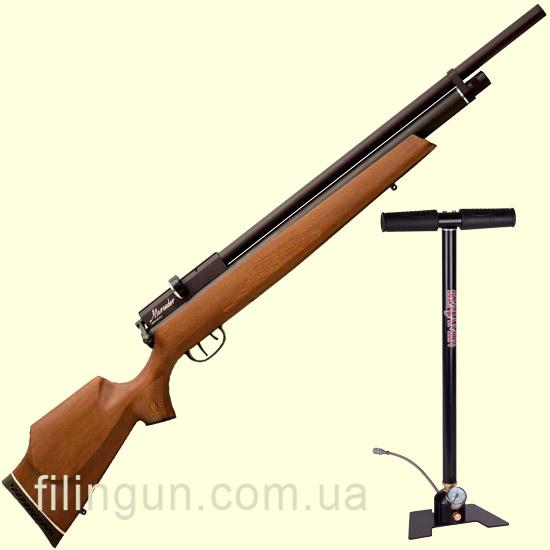 Пневматическая винтовка Benjamin Marauder + насос Benjamin RM - фото