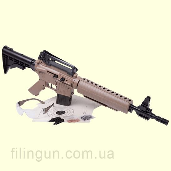 Пневматическая винтовка Crosman M4-177 Tan Kit