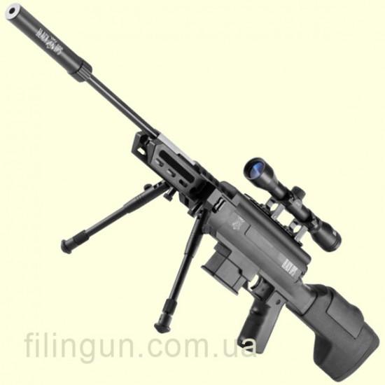 Пневматична гвинтівка Norica Black OPS Sniper