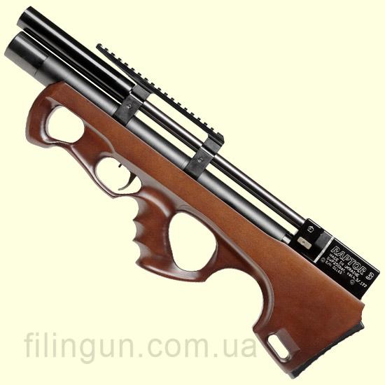 Гвинтівка пневматична Raptor 3 Compact HP PCP коричнева