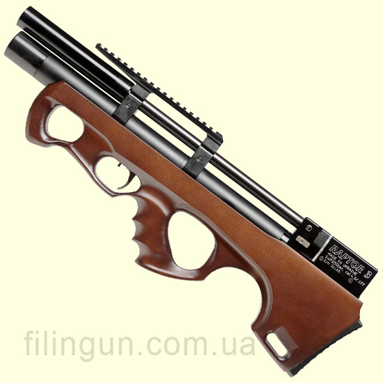 Гвинтівка пневматична Raptor 3 Compact PCP коричнева