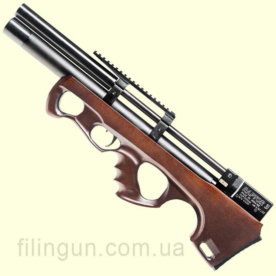 Гвинтівка пневматична Raptor 3 Compact Plus PCP коричнева