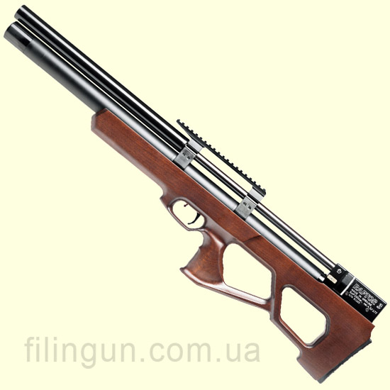 Гвинтівка пневматична Raptor 3 Long PCP коричнева