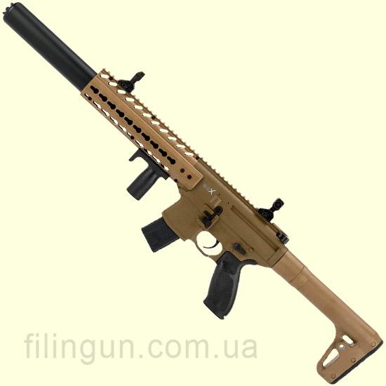 Гвинтівка пневматична Sig Sauer Air MCX ASP, FDE - фото