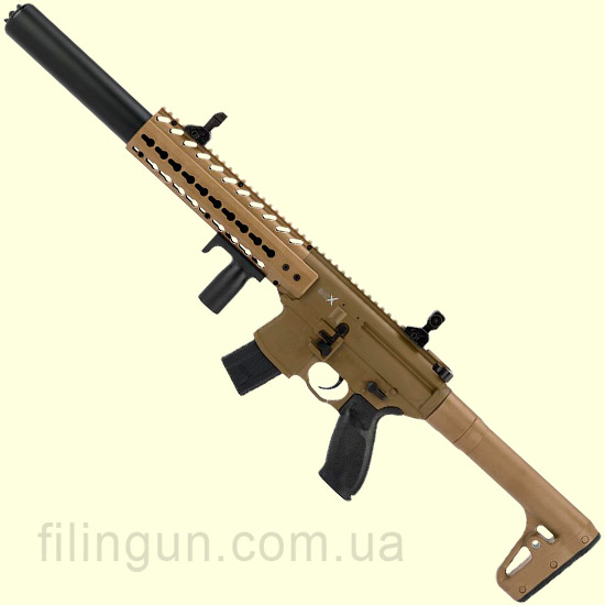 Гвинтівка пневматична Sig Sauer Air MCX ASP, FDE