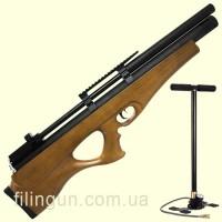 Пневматическая PCP винтовка SPA P10 + насос