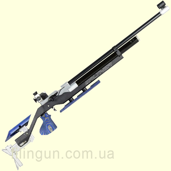 Гвинтівка пневматична Walther LG400 Blacktec PLUS right - фото