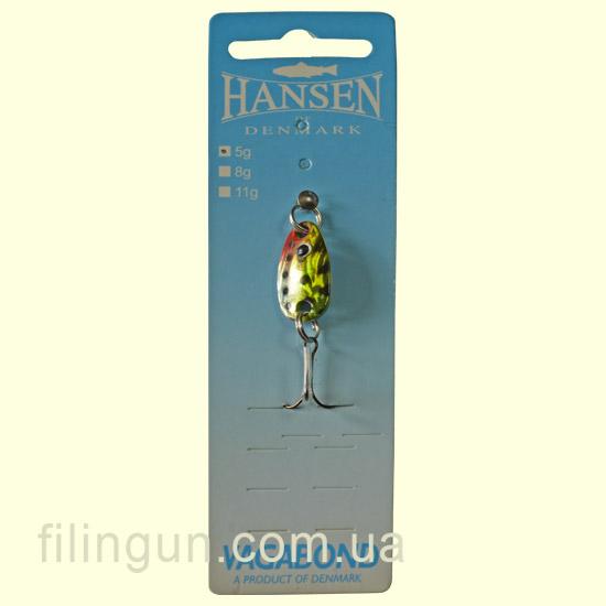 Блесна колебалка Hansen Vagabond 18231 - фото