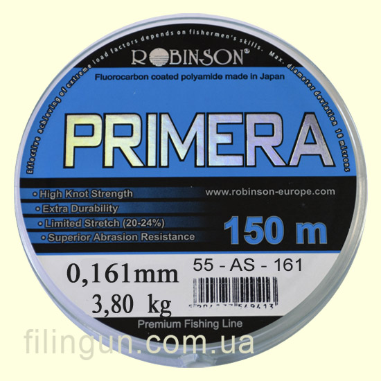 Леска Robinson Primera 0.161 mm 3.80 kg