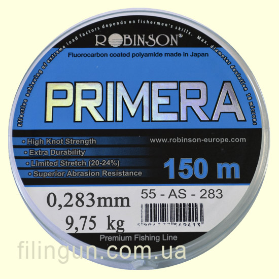Леска Robinson Primera 0.283 mm 9.75 kg