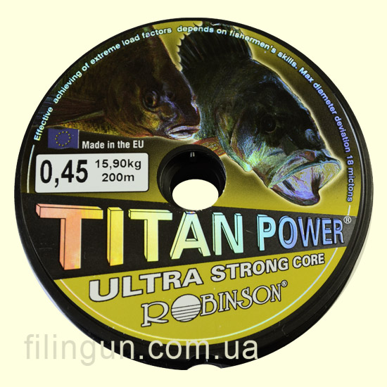 Ліска Robinson Titan Power Ultra Strong Core 0.45 mm 15.90 kg