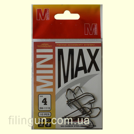 Гачки Mini Max Hook Limerick SW-1115 №4