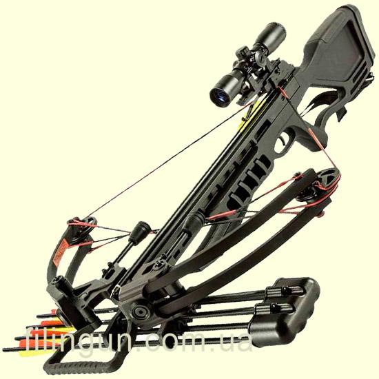 Арбалет блочный Man Kung Gladiator MK-380BK Black