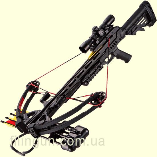 Арбалет блочний Man Kung Stalker MK-XB52BK-KIT - фото