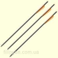 Стрела для арбалета карбоновая Man Kung MK-CA20