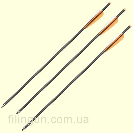 Стрела для арбалета карбоновая Man Kung MK-CA22 - фото