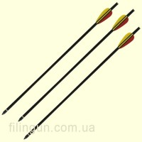 Стрела для арбалета Man Kung MK-AL20-BK
