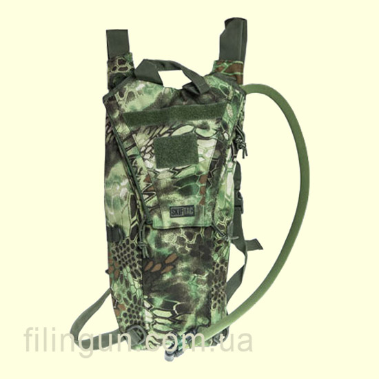 Гідратор Skif Tac з чохлом 2,5 літра Kryptek Green
