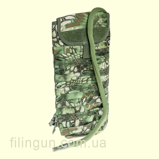 Гидратор Skif Tac с чехлом Molle 2,5 литра Kryptek Green
