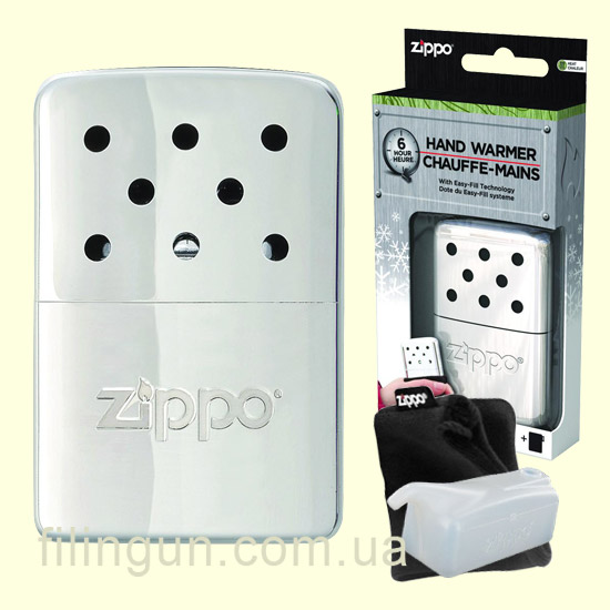Грілка для рук Zippo 40360 High Polish Chrome