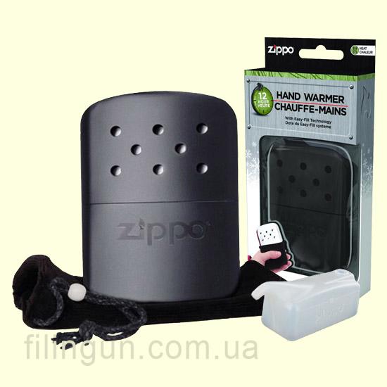 Каталитическая бензиновая грелка Zippo Hand Warmer black 40368
