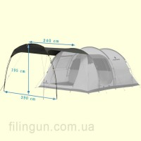 Тент Ferrino Canopy Maxi Grey
