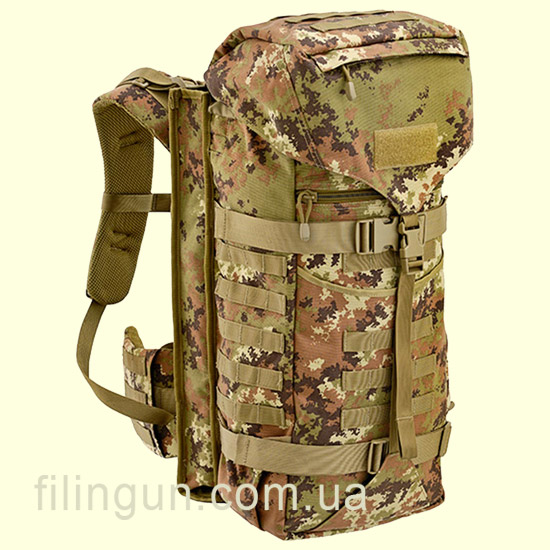 Рюкзак тактичний Defcon 5 Backpack with Integrated Gun Holster 45 Vegetato Italiano
