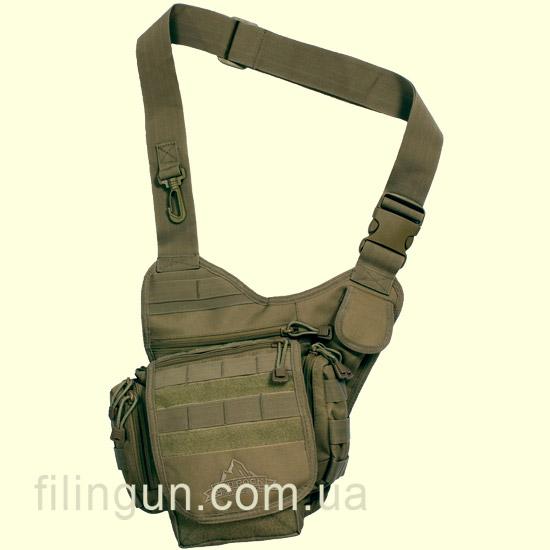 Сумка через плечо тактическая Red Rock Nomad Sling Pack Olive Drab