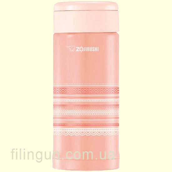 Термокружка Zojirushi SM-AFE35PL 350 мл розовое кружево