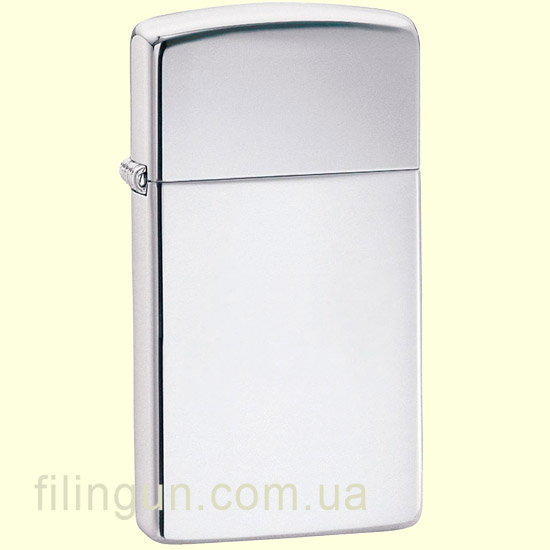 Зажигалка Zippo 1610 Slim High Polish Chrome