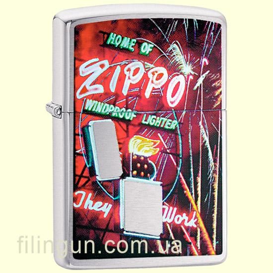 Зажигалка Zippo 24069 Neon Sign