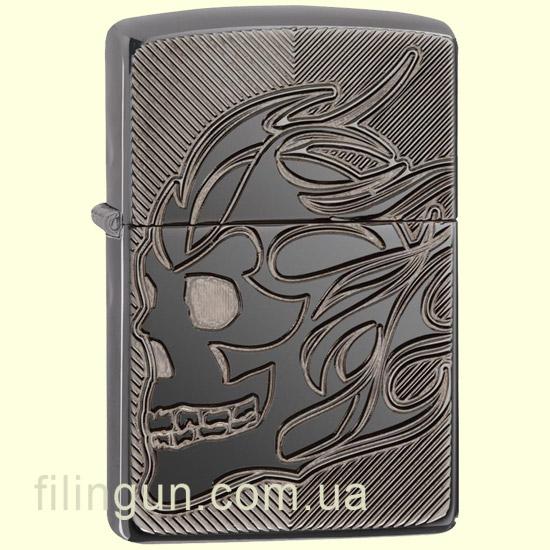 Зажигалка Zippo 29230 Armor Skull - фото