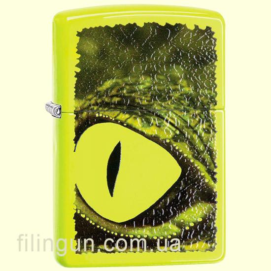 Зажигалка Zippo 29414 Alligator Green