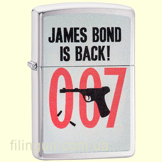 Зажигалка Zippo 29563 James Bond 007 Is Back