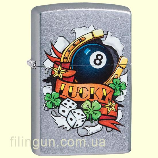 Зажигалка Zippo 29604 Luck Tattoo